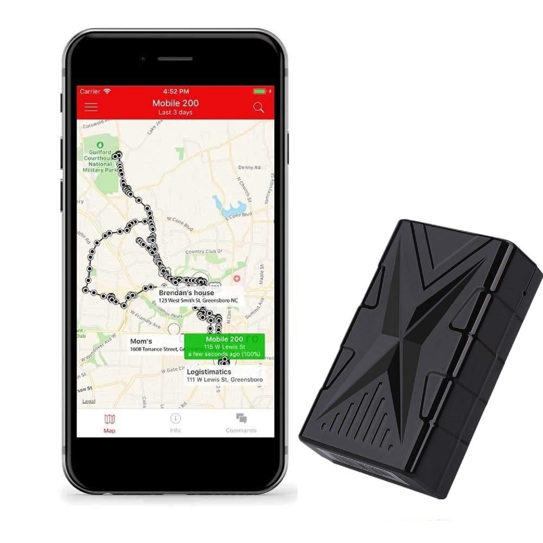 XZANTE Rastreador GPS de Vehículo Impermeable Al01 ...