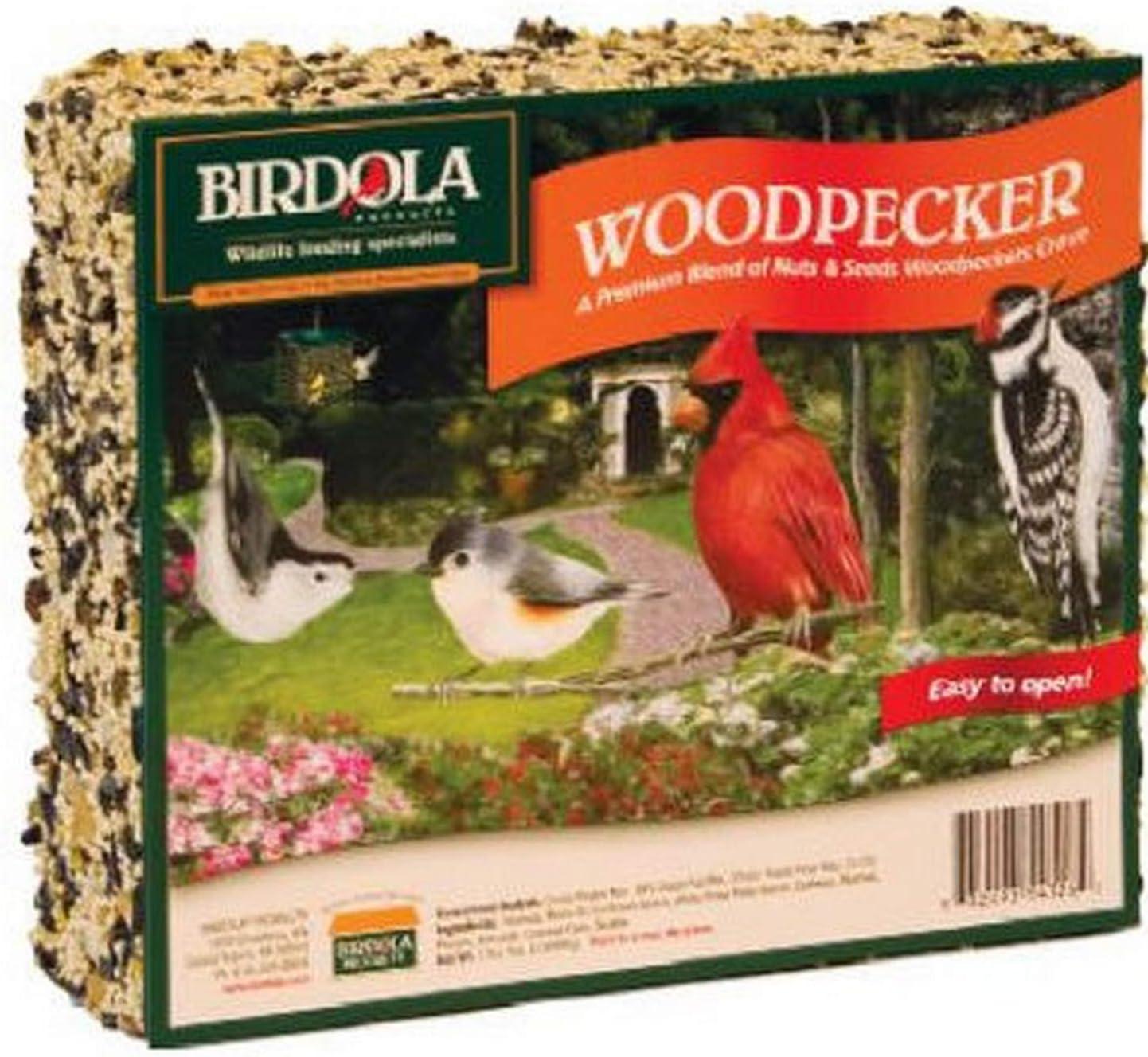 Birdola 54328 Woodpecker Seed Cake, 2 pound