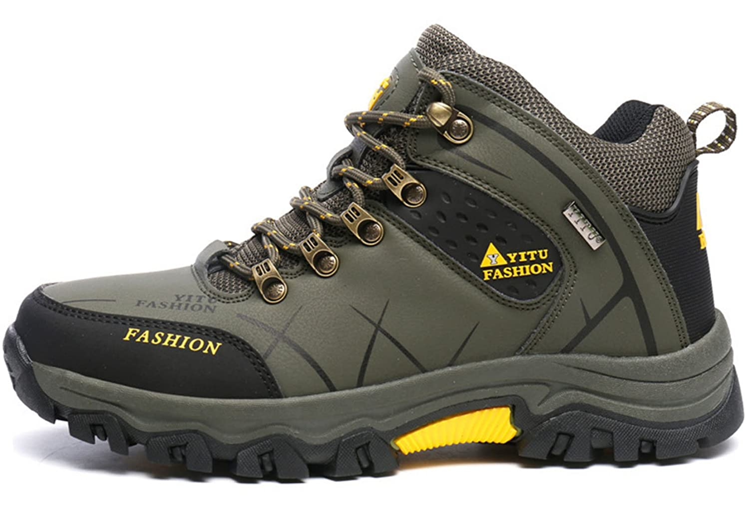 feae7458998 GFONE Men's Trainers Low Rise Trecking and Hiking Shoes Outdoor Sports  Antiskid Boots Size 6-12