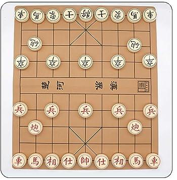 Style wei Juego de ajedrez Chino Tablero de ajedrez en Caja de ...