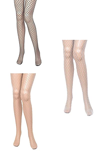 97effdba565 Image Unavailable. Image not available for. Color  Womens Sexy Pantyhose  Full Fishnet Stockings Tights ...