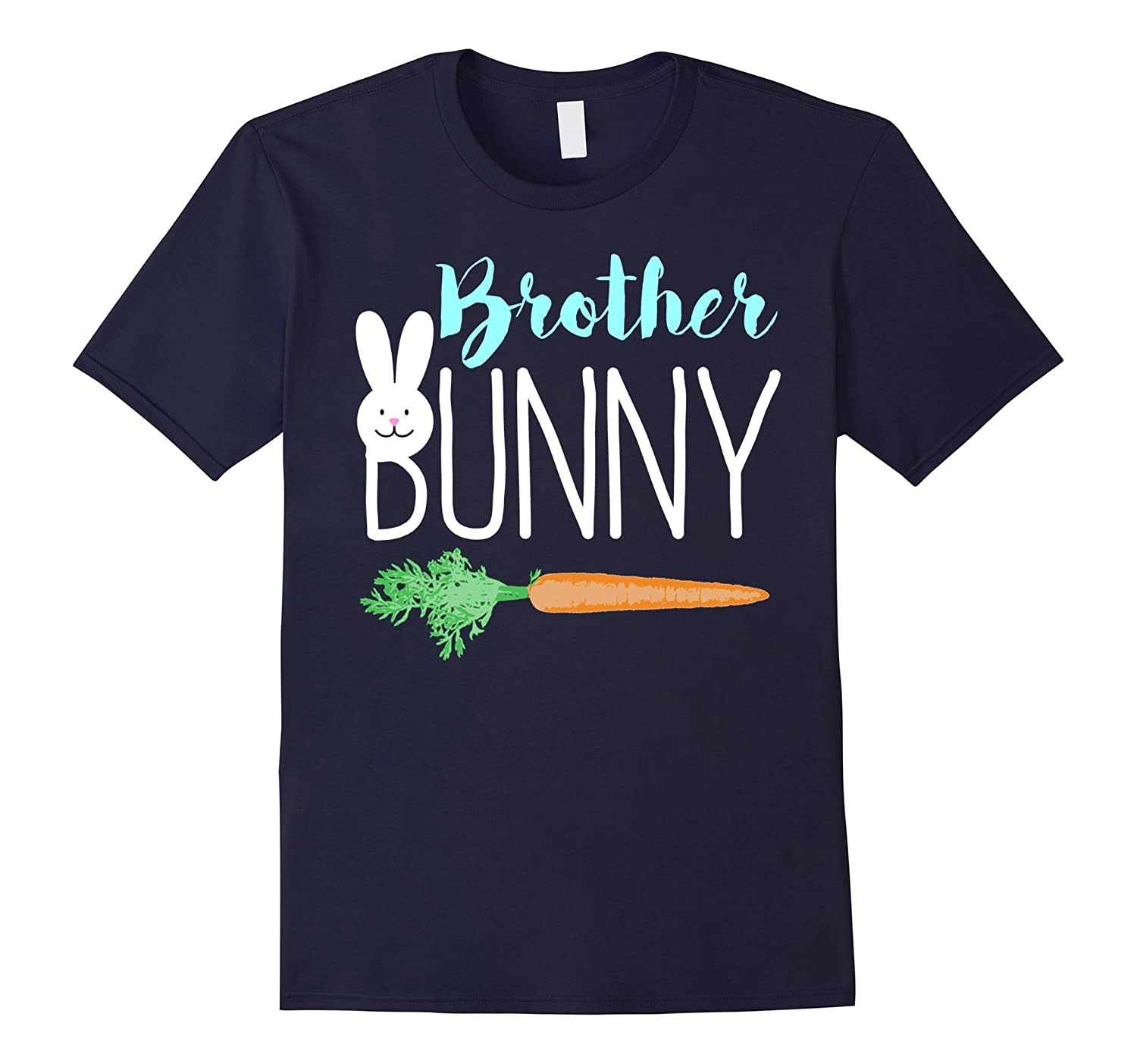 Easter Brother Bunny Family Sibling T-Shirt-TD