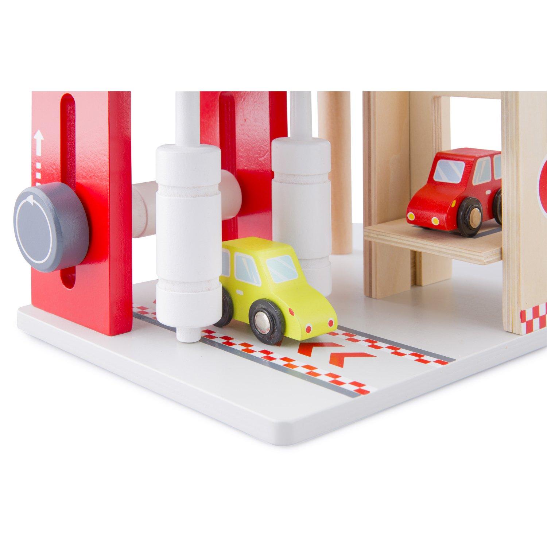 New Classic Toys 11040 Garage Parking Avec Parcours et 3 Autos