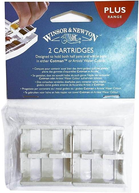 Winsor & Newton acuarela pintura Plus cartuchos pack de 2: Amazon ...