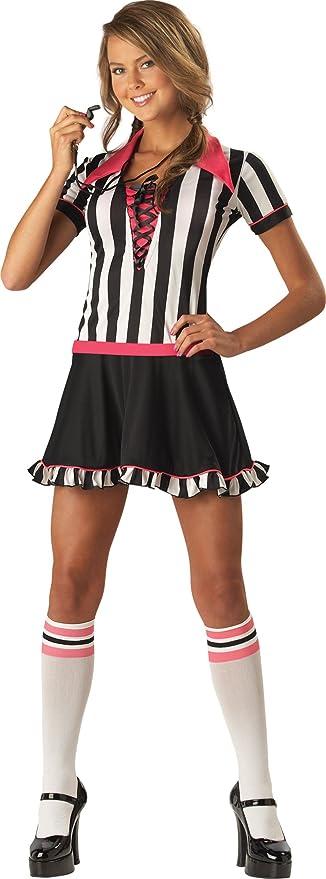 Incharacter Disfraces IC14007-M adolescente Sassy -rbitro vestuario Tama-o Mediano: Amazon.es: Ropa y accesorios