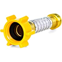 Camco Flexible Hose Protector-Eliminates Hose Crimping and Straining at Faucets and Water Connections, Creates Hose Flexibility (22703) - 22703-A