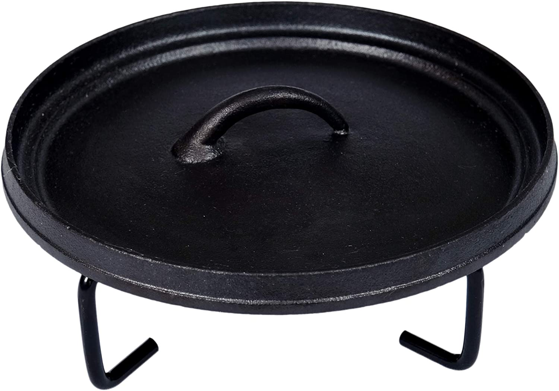 Soporte para tapa herramienta para horno holand/és de campamento