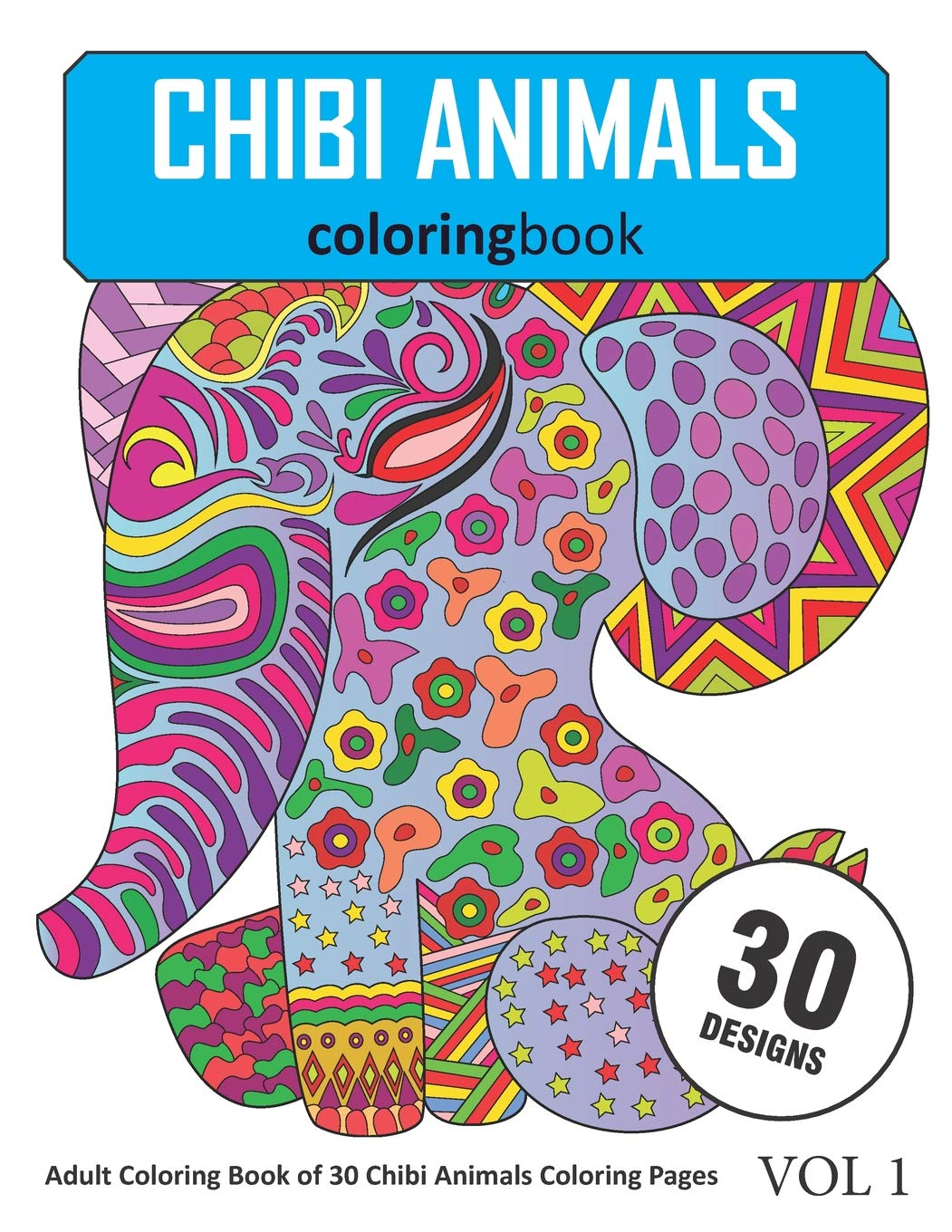 95 Chibi Animals Coloring Book Free