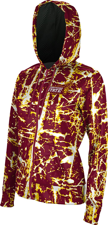 ProSphere Armstrong State University Girls Zipper Hoodie School Spirit Sweatshirt Distressed