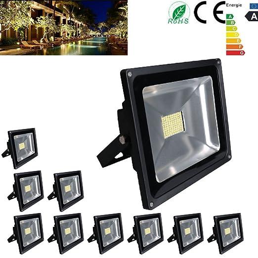10 x 80 W super brillante iluminación Foco LED SMD Outdoor ...