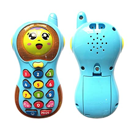 Jeacy Music Phone Toy For Baby Best Gift