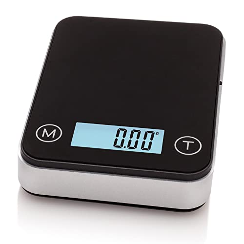 Smart Weigh High Precision Digital Mini Pocket Scale with Backlit LCD Display, Personal Jewelry and Kitchen Scale 100g x 0.01g