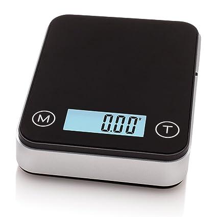 Smart Weigh - Balanza de Precision, con Función de Tara y Maletín De Transporte,