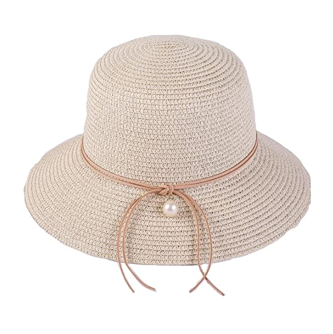 Amazon.com  Summer Sun Hat Floppy Beach Travel Bucket Hat for ... 9e916ab3d1b