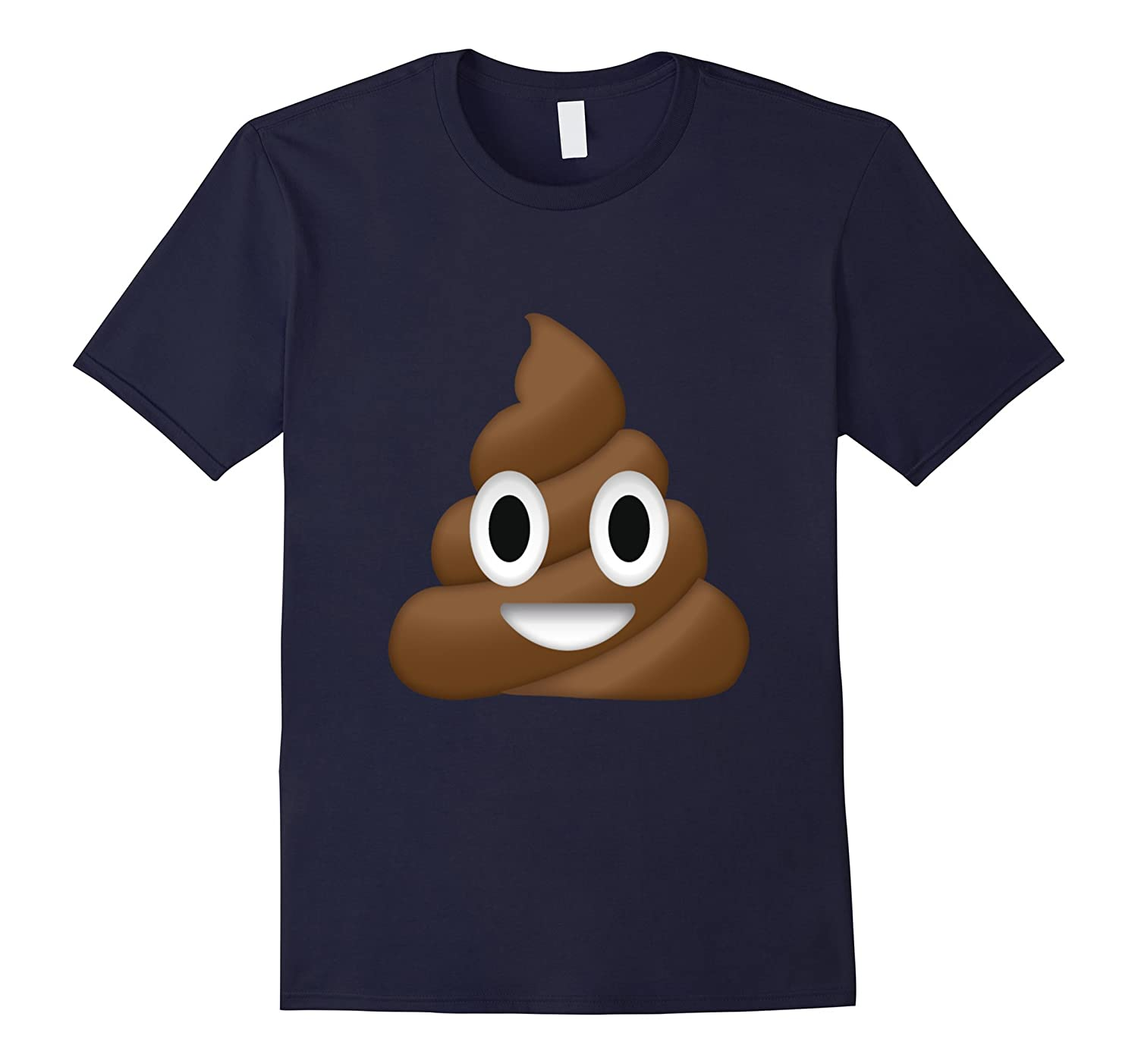 Emoji Poop T Shirt Novelty Funny for Men Women Kids-ah my shirt one gift