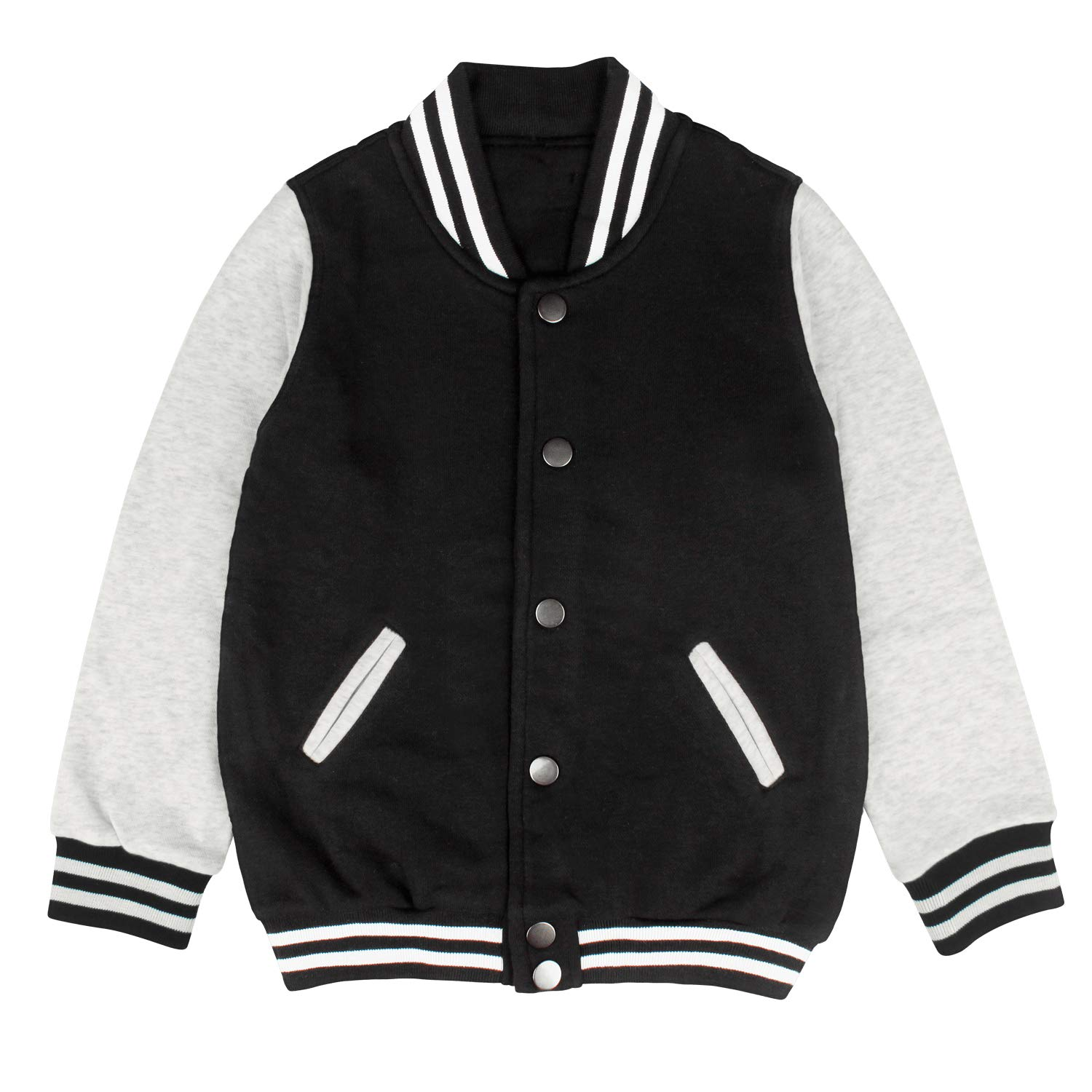 epoyseretrtgty Autumn Boys Girls Winter Beauty or Skeleton Casual Slim Baseball Jacket Hoodie