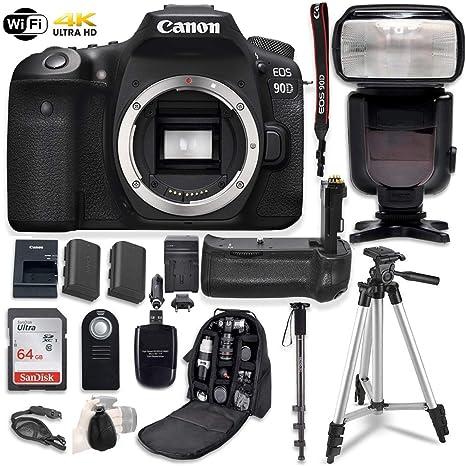 Amazon.com: Canon EOS 90D - Juego de cámara réflex digital ...