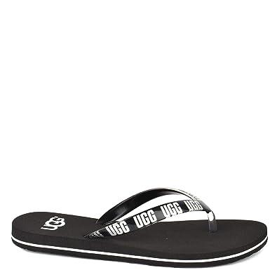Sandali da donna ciabatta infradito neri UGG Australia