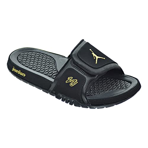 56637dcc326a3a Jordan Hydro 2 Premier Men s Sandals Black Metallic Gold 456524-042 (11.5 D