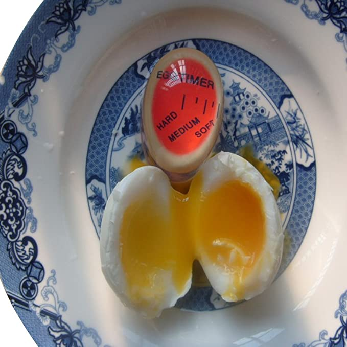 Egg Perfect Color Changing Timer Yummy Soft Hard Boiled Eggs Cooking New Ki V0X9