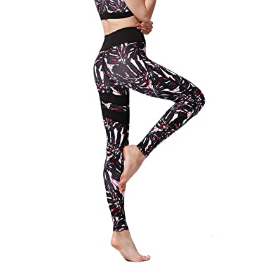 FZmix Women Energy Seamless Tummy Control Yoga Pants Super ...