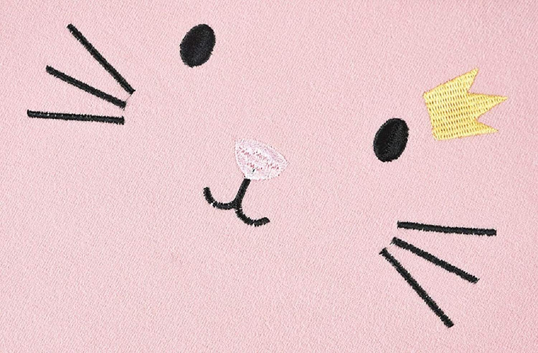 DEBAIJIA Bebe Infantil Reci/én Nacido Camisa Blusas Ni/ña de Sweatshirt Lindo Transpirable Suave C/ómodo Mantener Caliente Bordado Algod/ón Manga Larga Camisetas Tops Sudaderas para 1-4 A/ños Ropa