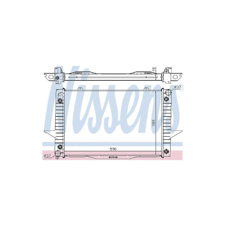 Volvo Radiator - 8601356 850/S70/V70 Turbo
