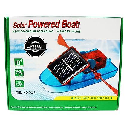 Buy Muren DIY Solar Powered Boat Toy Online at Low Prices in