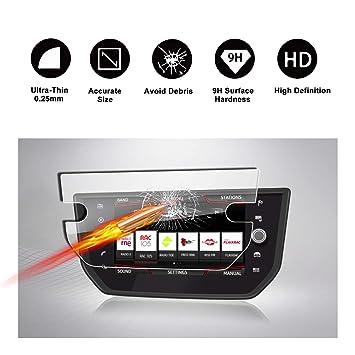 RUIYA Protector de Pantalla de Vidrio Templado para 2017 2018 Seat Ibiza Seat Media System Plus Sistema de navegación, película Protectora Crystal ...