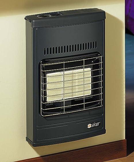 1 Stufa Raggi Infrarossi Termo Ventilata Con Ventola A Gas