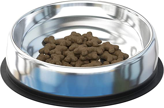 Enhanced Pet Bowl - Stainless Steel Bowl for Flat-Faced Dog Breeds