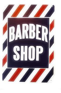 Amazon.com: zona de Barber Sign Xing regalo novedad recortar ...