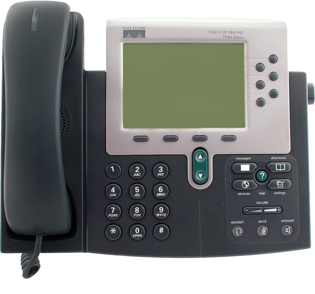 Cisco 7960G IP Phone SCCP Vista