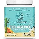 Sunwarrior Colágeno Vegano, 15g Proteína Con Ácido Hialurónico Y Biotina, Sabor Vainilla, color, 500 gram, pack of…