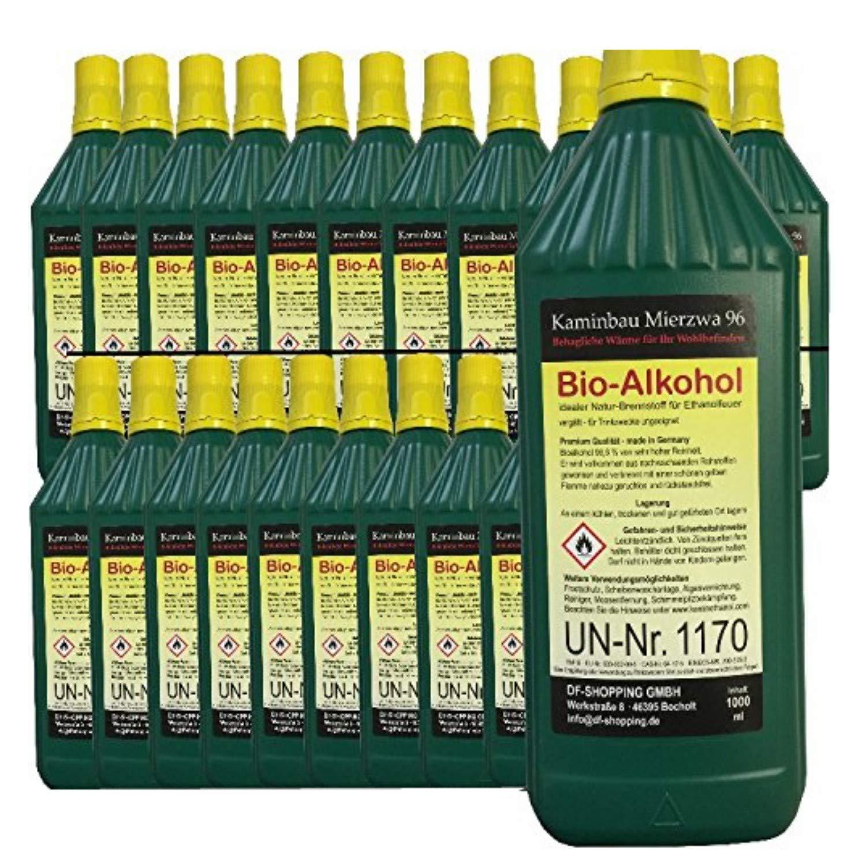 Bioetanol Bio Alcohol Elige de entre 5, 12, 24 litros. Por Chimenea etanol (12 Litros): Amazon.es: Hogar