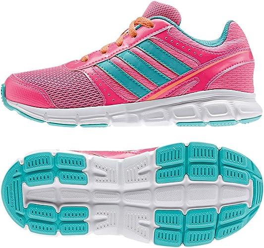 adidas Hyperfast B44125 - Zapatillas de running para niña, rosa y ...
