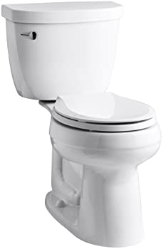 KOHLER K-3851-0 Cimarron Comfort Height Two-Piece Toilet