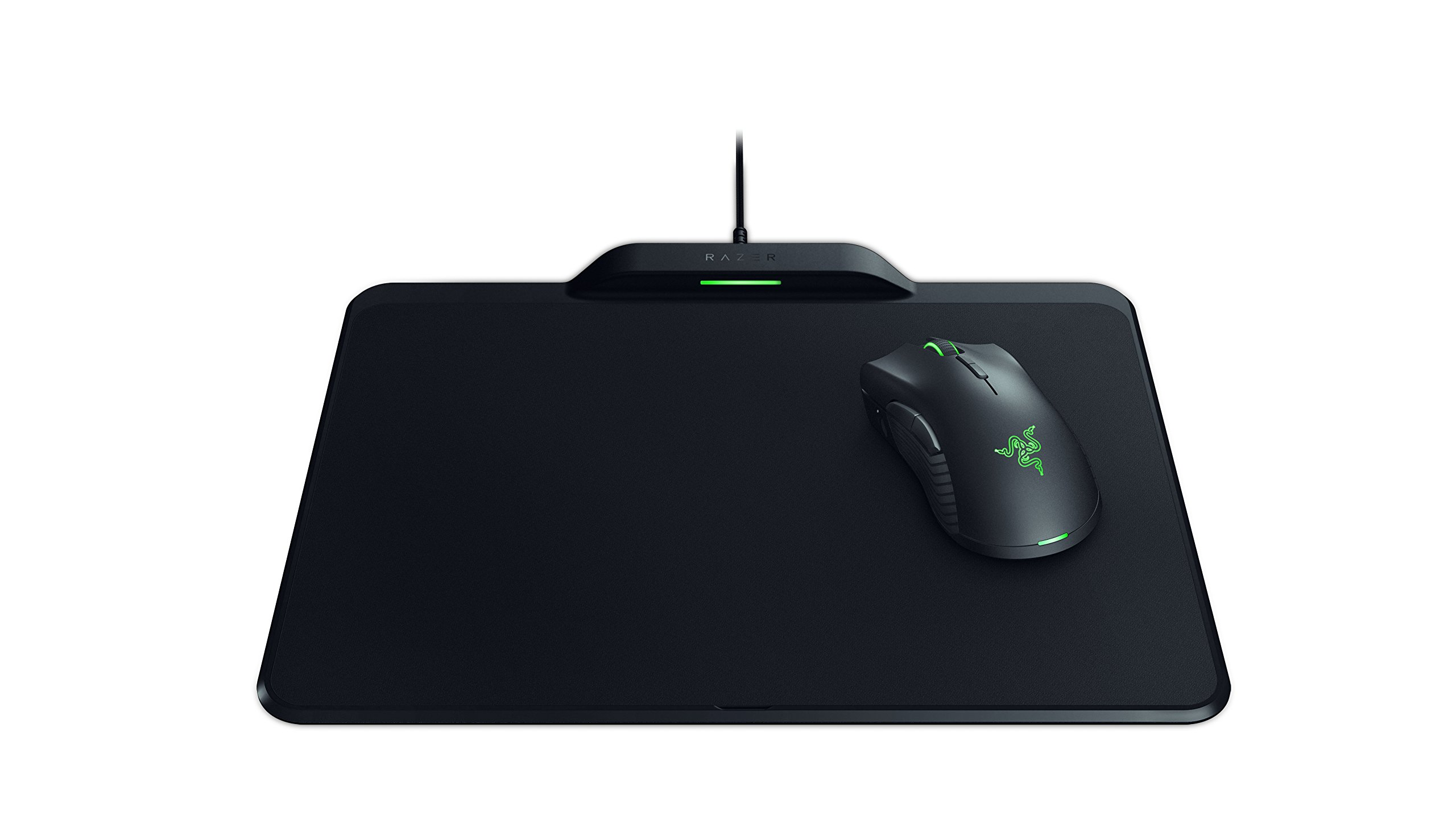 Razer Mamba HyperFlux & Razer Firefly HyperFlux Bundle – Wirelessly Powered Mouse and Wireless Power Mouse Mat