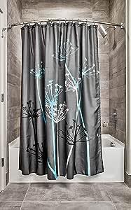 VinMea Shower Curtain,Hudson Bay,Home Bathtub Polyester Fabric Shower Curtain for Bathroom Decor,Waterproof Washable,72x72