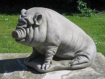 Dragonstone Pot Bellied Pig Garden Statue
