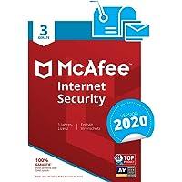 McAfee Internet Security 2018, 3 PC 3 licencia(s) - Seguridad y antivirus (3 PC, 3 licencia(s))