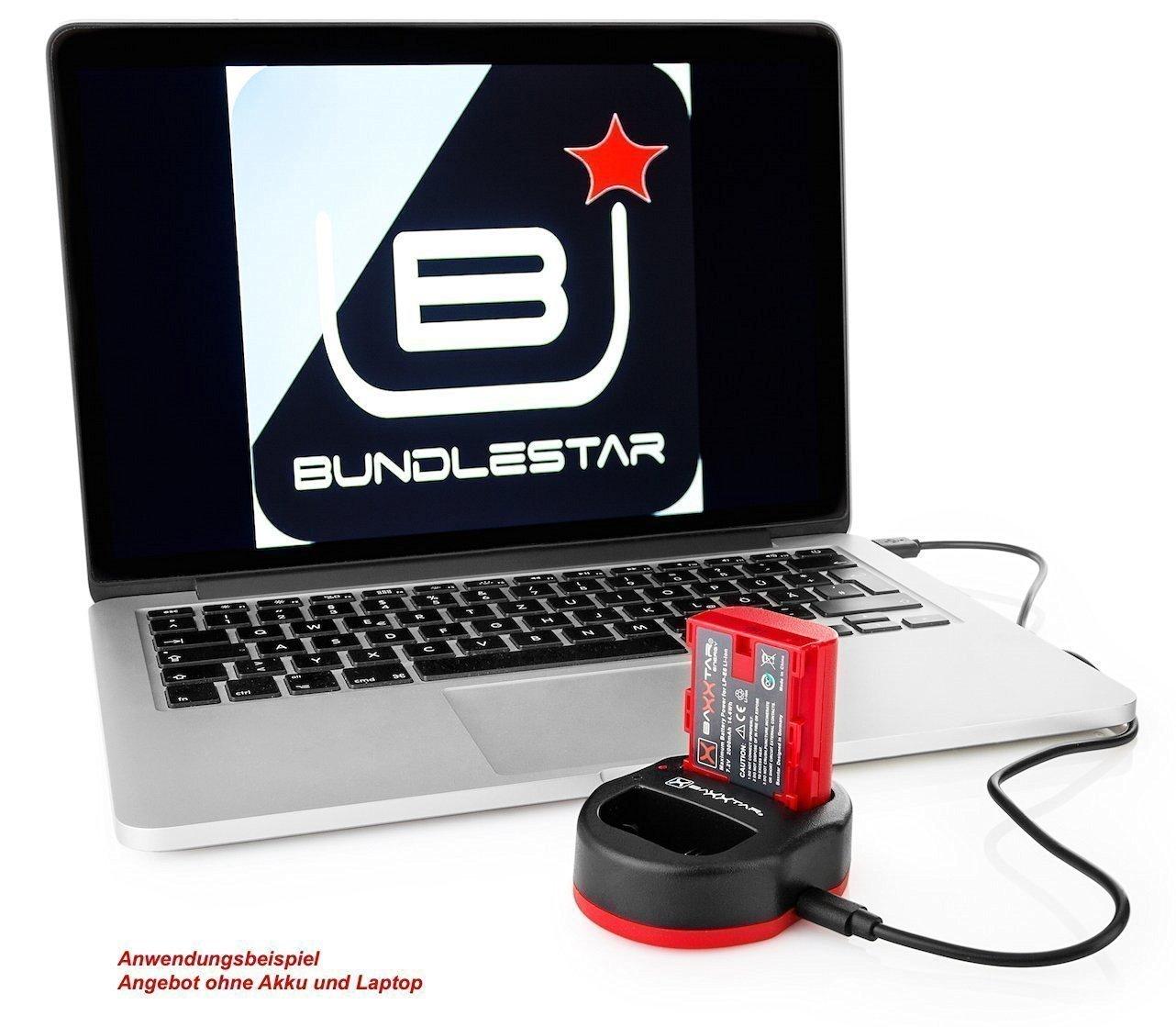 Baxxtar USB Doppio Caricatore TWIN PORT 1838 per la batteria Sony NP-FZ100 Sony Alpha ILCE 7 III//Alpha 7R III//Alpha 9