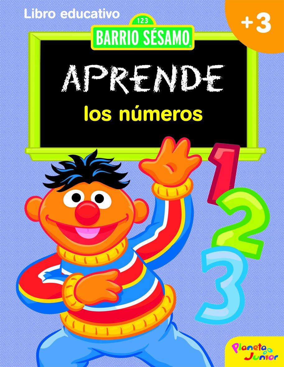 Barrio Sésamo Aprende Los Números Spanish Edition Barrio Sésamo 9788408089889 Books