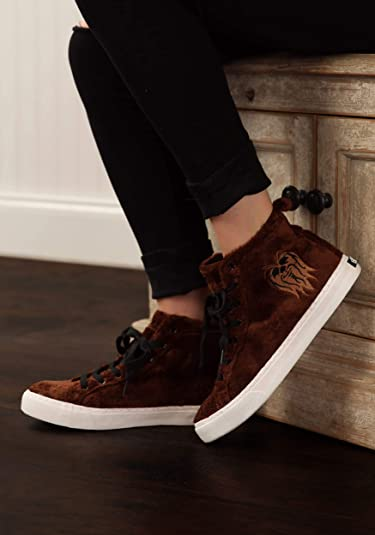 Chewbacca Furry Face High-Top Shoes