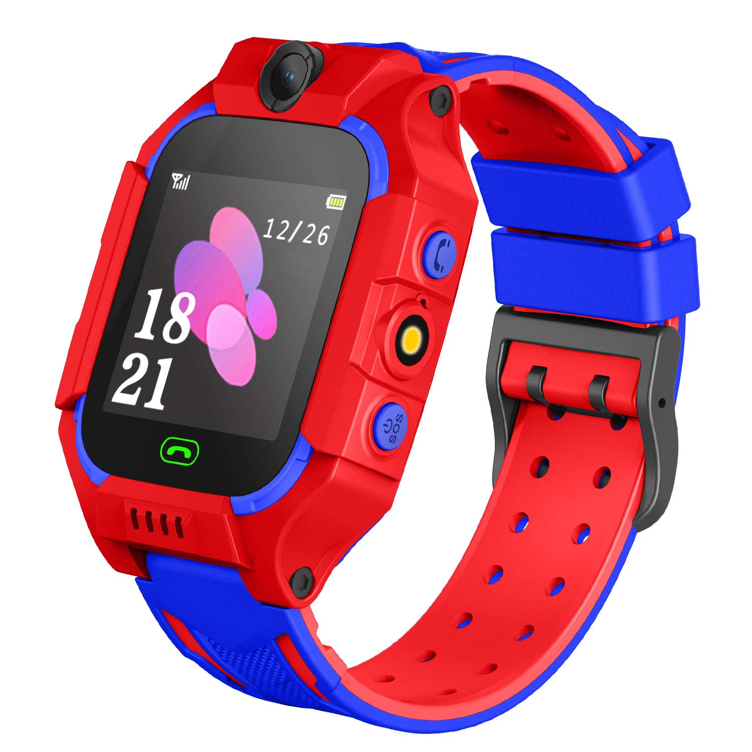 Karaforna Kids Smartwatch Phone Boys Girls – Game Smart Watch with Call Games Camera Alarm 1.54 inch Touch Screen Wristwatch Cellphone Watch for ...