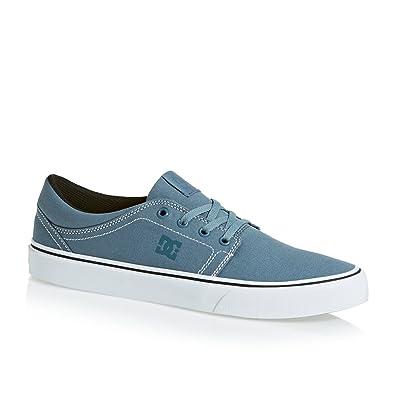 DC Trase TX Skate Shoe,Aqua,11 M US Little Kid