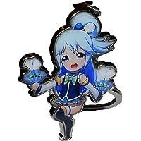 GB Arts KonoSuba Aqua Metal Keychain Pendant