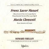 Mozart/Clementi:Piano Concertos [Howard Shelly; Sinfonieorchester St Gallen] [HYPERION: CDA68126]