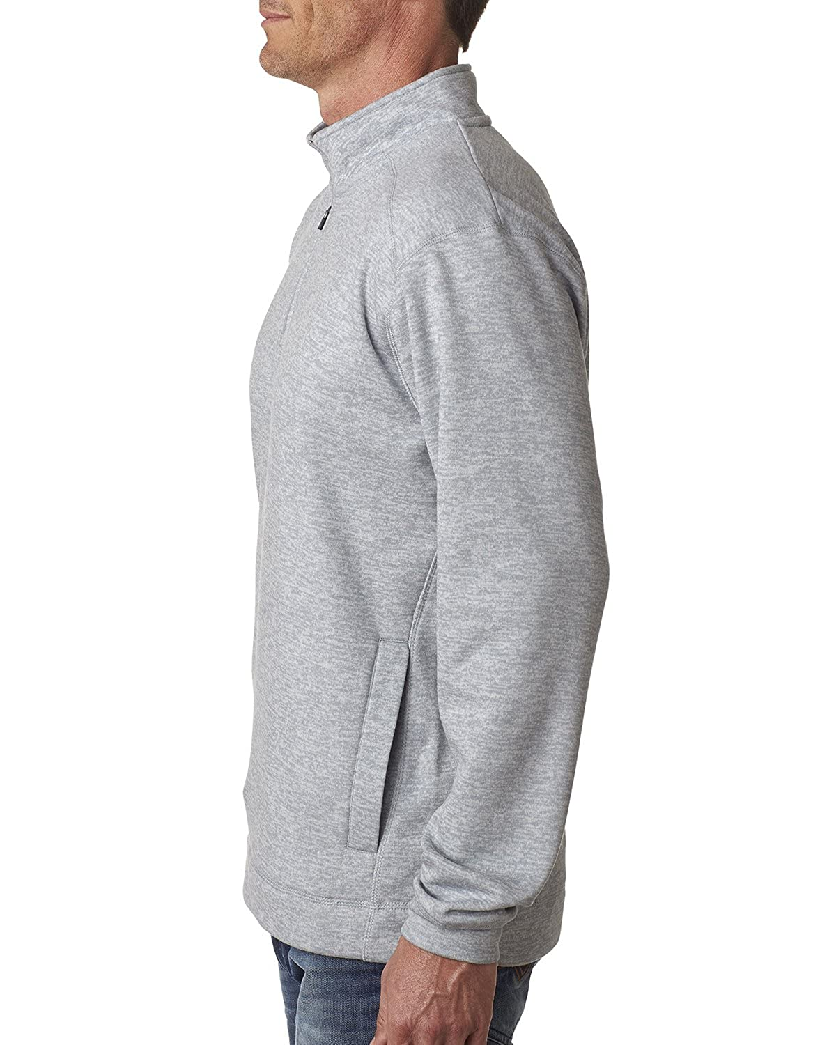 America Mens Cosmic Fleece 1//4 Zip Pullover Sweatshirt-8614 J