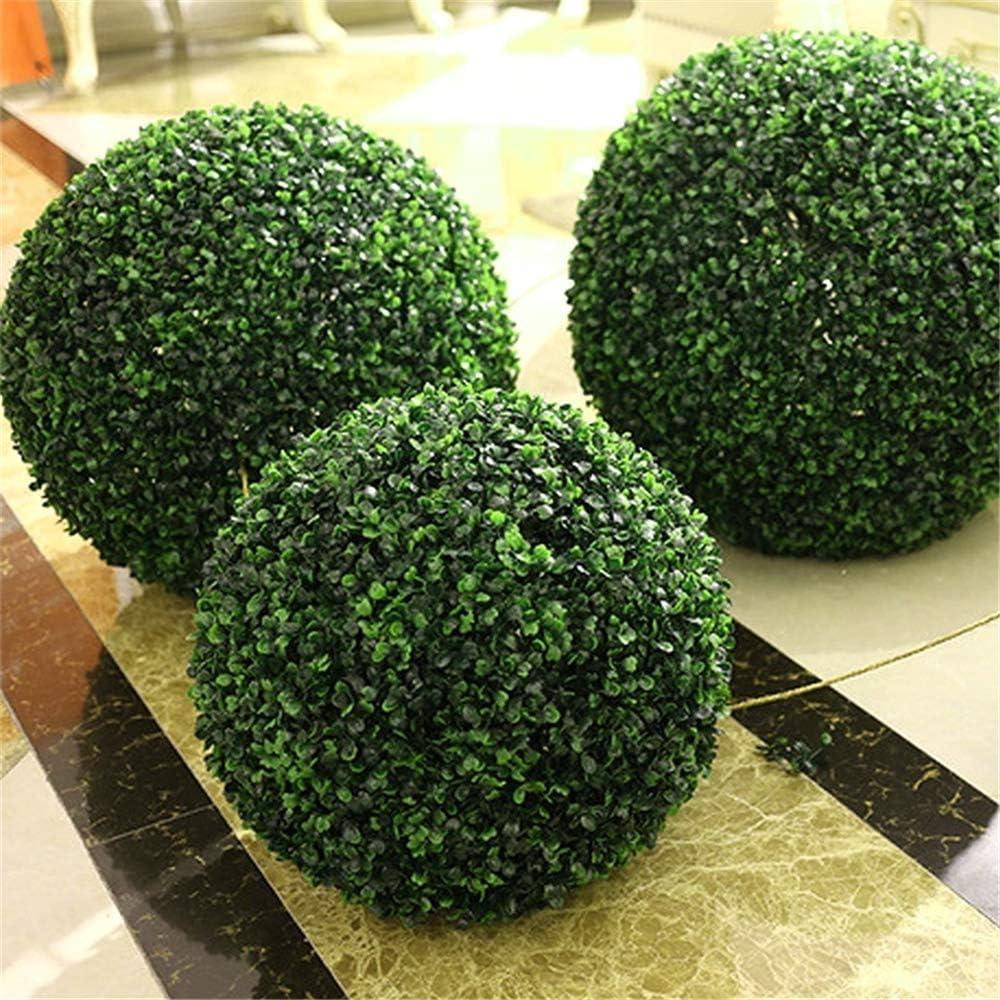 jard/ín Surenhap Bola de boj Artificial para Exterior o Interior 10 cm Bodas y Eventos Especiales decoraci/ón Interior
